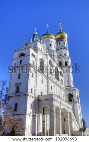 Bell tower of Ivan the Great. Moscow Kremlin, Russia