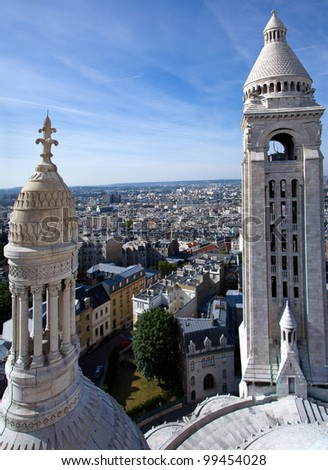 Bell tower of the Sacre Coeur Cathedral