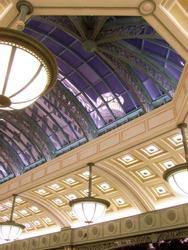 Bellagio through skylight, Las Vegas