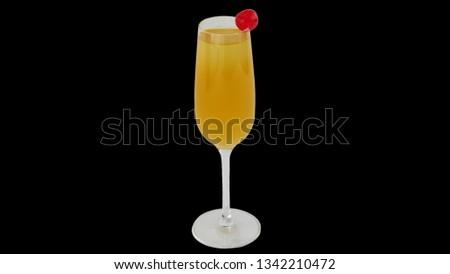 Bellini Cocktail Picture