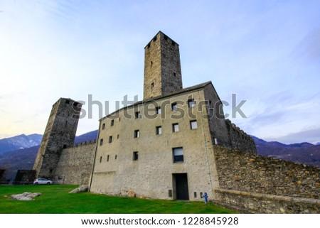 Bellinzona, Switzerland: Bellinzona castles
