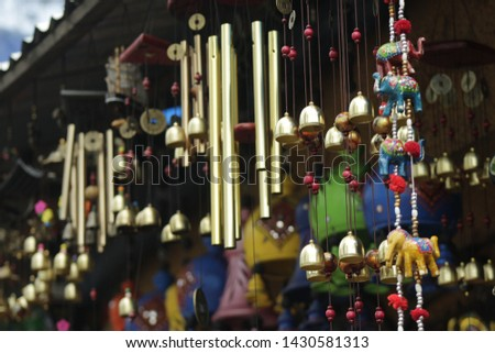 Bells in the Kodai market #1430581313