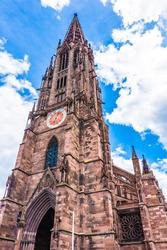 Belltower of Freiburg Im Brisgau, Germany