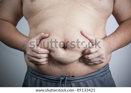 belly of a fat man