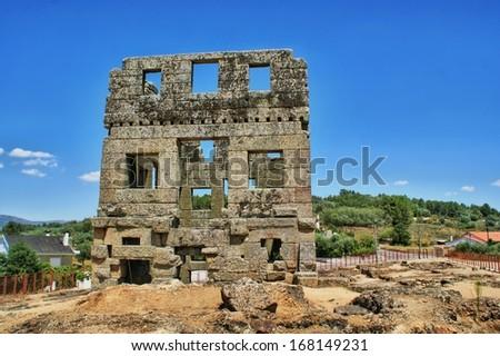 Belmonte Centum Celae tower in Portugal