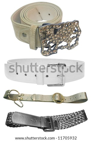 belt - female accessories isolated on white