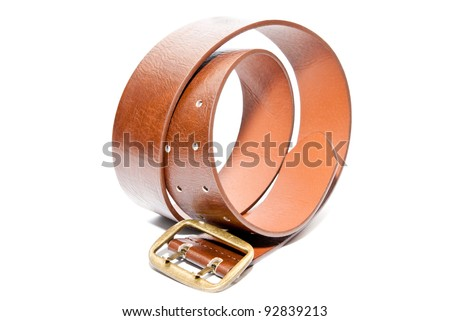 belt isolated on a white background