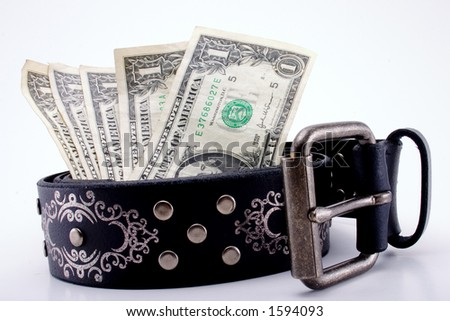 Belt with Money