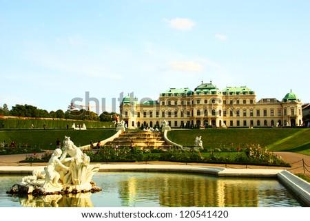 Belvedere Palace , Vienna