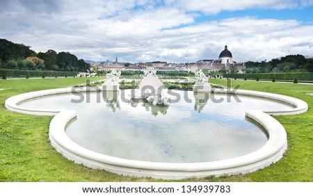 Belvedere Park Wien