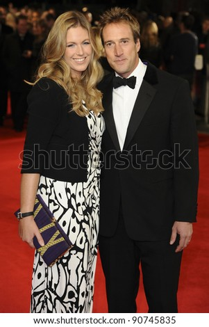 """Ben Fogle and wife Marina arriving for the """"Hugo"""" Royal Gala Premiere at the Odeon Leicester square, London. 28/11/2011 Picture by: Alexandra Glen / Featureflash"""