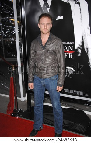 Ben Foster at an industry screening for \