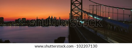 Ben Franklin Bridge, Philadelphia, Pennsylvania