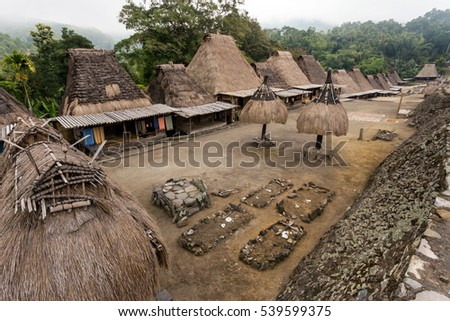 Shutterstock Bena traditional village in Bajawa, Flores, Indonesia