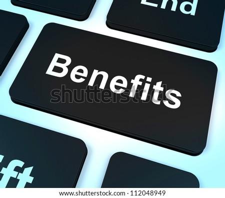 Benefits Key Shows Bonus Perks Or Rewards