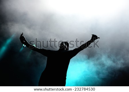 BENICASSIM, SPAIN - JULY 17: Chase & Status (British electronic music production duo band) performs at FIB Festival on July 17, 2014 in Benicassim, Spain.