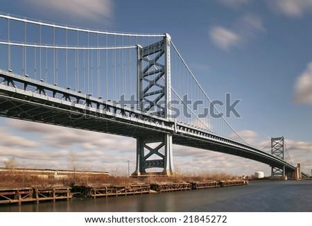 Benjamin Franklin Bridge in Philadelphia, PA