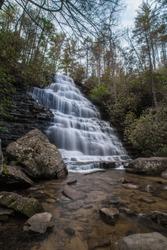 Benton Falls Long Exposure Waterfall Cleveland Tennessee