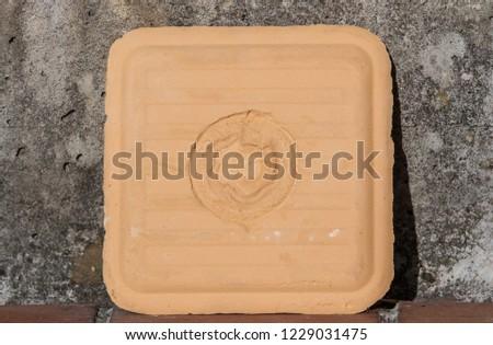 Bentonite Filter Cake #1229031475