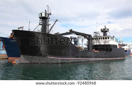 Bering Sea Crab Boat