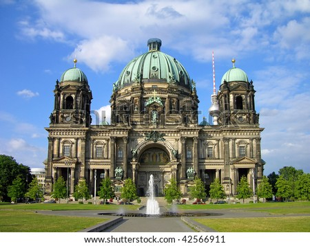 Berlin Cathedral (Berliner Dom), Berlin, Germany