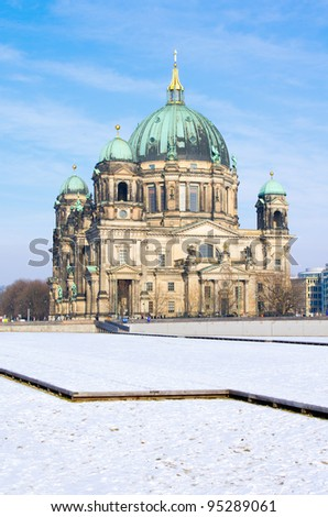 Berlin Cathedral (Berliner Dom) in Winter