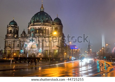 Berlin Cathedral, Germany.