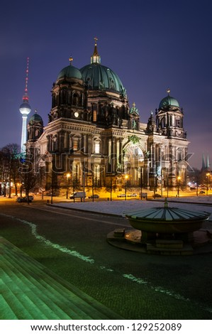 Berlin Dom by Night Nobody