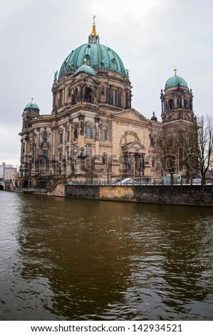 Berlin Dom in winter day