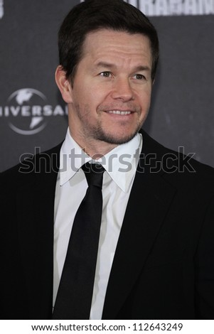 BERLIN - FEBRUARY 27: Actor Mark Wahlberg attends the photocall of 'Contraband' at Hotel Ritz Carlton on February 27, 2012 in Berlin, Germany. - stock photo
