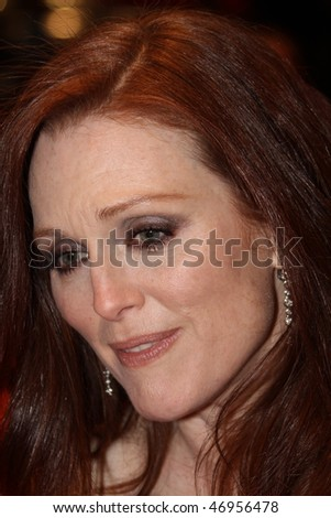 BERLIN - FEBRUARY 17: Actress Julianne Moore attends 'The Kids Are All Right' Premiere during  of the 60th Berlin Film Festival at the Berlinale Palast on February 17, 2010 in Berlin, Germany