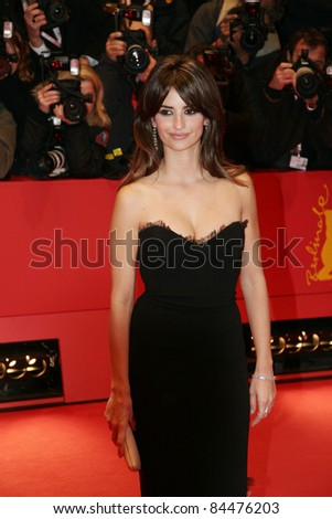 BERLIN - FEBRUARY 10: Penelope Cruz attends the 'Elegy' Premiere at the 58th Berlinale Film Festival at the Berlinale Palast on February 10, 2008 in Berlin, Germany.