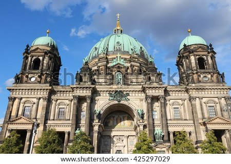 Berlin Germany Capital City Architecture