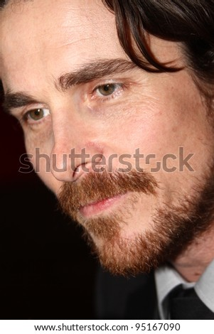 BERLIN, GERMANY - FEBRUARY 13: Actor Christian Bale attends 'The Flowers of War' Premiere during  of the 62nd Berlin  Film Festival at the Berlinale Palast on February 13, 2012 in Berlin, Germany.