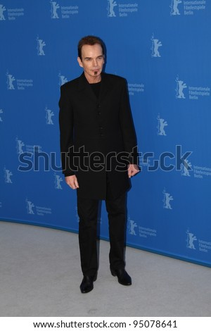 BERLIN, GERMANY - FEBRUARY 13: Billy Bob Thornton attends the 'Jayne Mansfield's Car' Photocall during of the 62 Berlin  Film Festival at the Grand Hyatt on February 13, 2012 in Berlin, Germany - stock photo