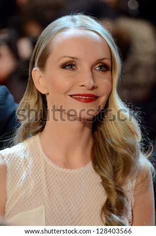 "BERLIN - GERMANY - FEBRUARY 15:  Janine Reinhardt at the 63rd Annual Berlinale International Film Festival ""The Croods"" premiere at Berlinale Palast on February 15, 2013 in Berlin, Germany."