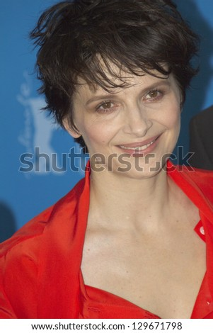 BERLIN, GERMANY - FEBRUARY 12: Juliette Binoche attends the 'Camille Claudel 1915' Photocall during the 63rd Berlinale Festival at the Grand Hyatt Hotel on February 12, 2013 in Berlin, Germany.