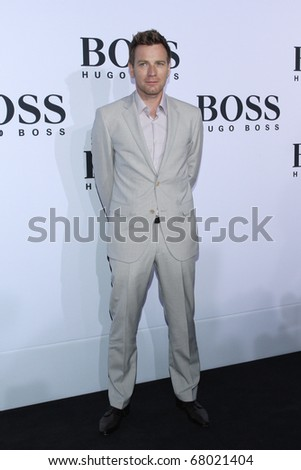 BERLIN, GERMANY - JULY 8: Ewan McGregor attends the Boss Black Show during the Mercedes-Benz Fashion Week Spring/Summer 2011 on July 8, 2010 in Berlin, Germany.