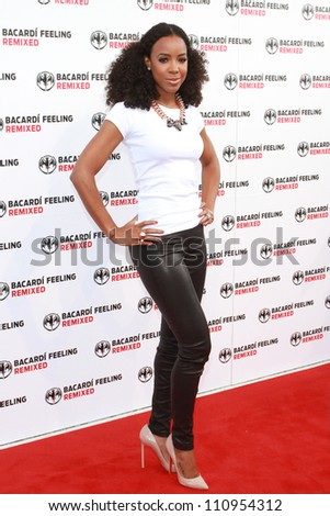 BERLIN, GERMANY - JULY 08: Kelly Rowland attends her Bacardi Record Release Party at 'Spindler and Klatt' on July 08, 2012 in Berlin, Germany.