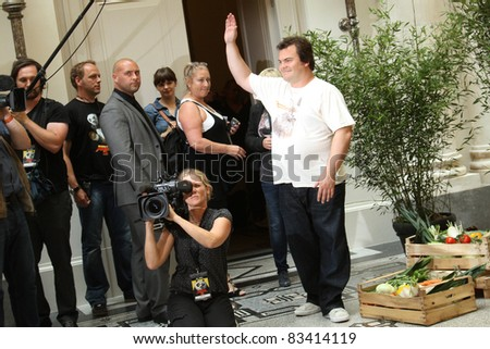 BERLIN, GERMANY - JUNE 07: Jack Black attends the Photocall of 'Kung Fu Panda 2' at Hotel de Rome on June 7, 2011 in Berlin, Germany.