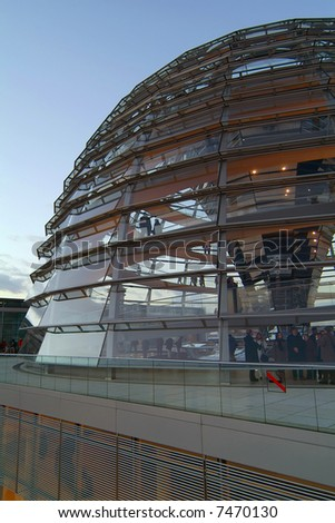 Berlin Reichstag, glass dome