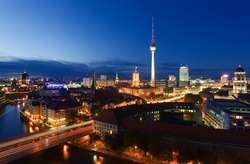 Berlin Skyline City
