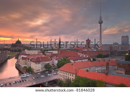 Berlin Skyline Dynamic City