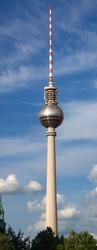 Berlin TV Tower in Berlin, Germany