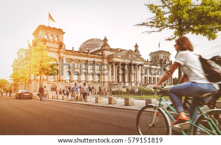 berlin urban city life with...