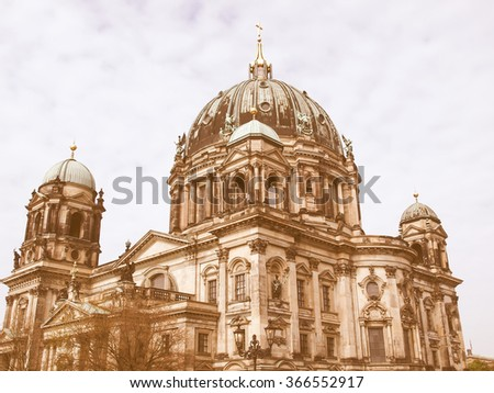 berliner dom cathedral church...
