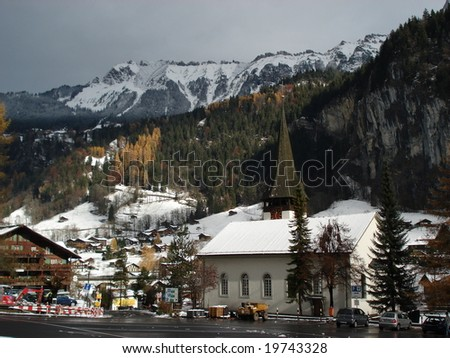 BernerOberland, die Schweiz