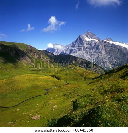 Bernese Alps, Switzerland, UNESCO World Heritage Site
