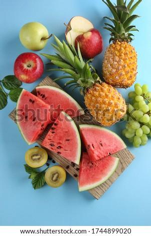 Fruit Basket New T-Shirt Vegetables Apples Banana Grapes Pineapple Watermelon