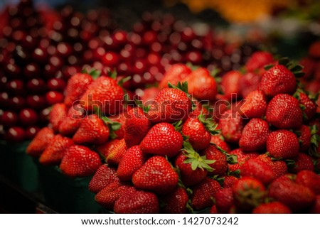 Berry berry berry red strawberry #1427073242